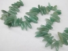 Green Aventurine Long Nugget Beads-wholesale beads-jewelry beads-gemstone beads-loose beads-semi precious beads