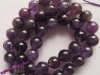 Natural Amethyst Round Beads 12 mm-jewelry beads-gemstone beads-loose beads
