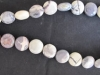 Porcelain Jasper 12 mm round coin beads