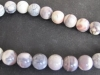 Porcelain Jasper round beads 12 mm