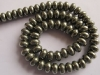 Pyrite Smooth Roundel beads-wholesale beads-jewelry beads-gemstone beads-loose beads-semi precious beads