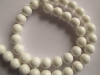 White Coral beads 10 mm round beads-wholesale beads-jewelry beads-gemstone beads-loose beads-semi precious beads