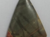Picasso jasper triangle charms and pendants