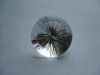 Concave cut crystal