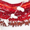 Sea Bamboo Red Coral Beads